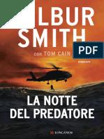 La Notte Del Predatore - Wilbur Smith