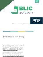 Präsentation Blic Solution