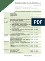 rubrica evaluacion ppt y exposicion 3° medio Realidad Nacional ciencias sociales