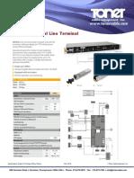 Televes OLT512 Optical Line Terminal