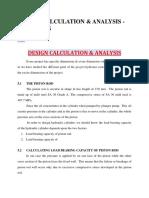 Design Calculation Hydraulic Jack