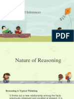 Reasoning and Inferences