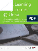 Career Short Learning Programmes Unisa