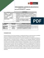 Silabo Practica - II