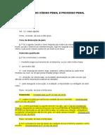 Atualizações Do Código Penal e Codigo de Processo Penal