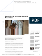 Quraish Shihab Isi Khutbah Idul Fitri Di Masjid Istiqlal _ Republika Online