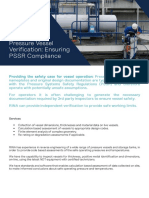 RINA Datasheet - Pressure Vessel Verification