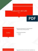 Produccion de Cafe