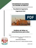 Análisis de Fallas en Cimentaciones Para Silos - REYES MARTÍNEZ Claudia