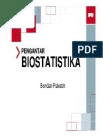 #01 Pengantar Biostatistika