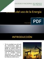 Efectos Del Uso de La Energía