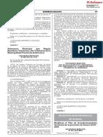 Modifican el Plan de Acondicionamiento Territorial de la provincia de Huaral 2009 - 2019