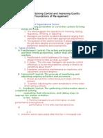 Chapter8 Kreitner Control Outline COB300E