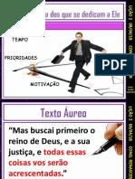 DEUS CUIDA DOS QUE SE DEDICAM A ELE  Lição 2 - 2T - 2018 - BETEL