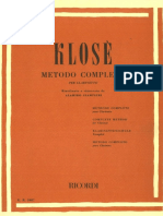 Complete Method for Clarinet H. Klose - Giampierre