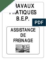 Travaux Pratiques b.e.p. Assistance de Freinage