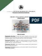 Final TOM Lab Manual New PDF