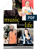 Tia DeNora-Music in Everyday Life -Cambridge University Press (2000)
