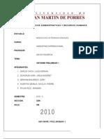 Primer Informe Preliminar Modificado