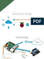 SAP HANA Internet of Things Raspberry Pi Connecting to Arduino
