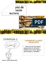 estrategias comprension lectora