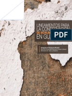 Conservation Guidelines for Monuments and Sites in Guatemala
