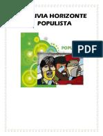 Bolivia Horizonte Populista