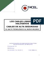 Caracteristicas Cables Libre de Halogenuros