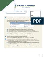 Ficha Formativa Cfq8 Som Global Novofq Com Solução