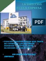 Direccion de La Empresa