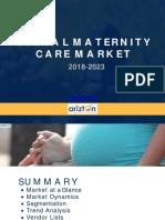 Global Maternity Care Market Analysis by Arizton