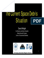 Wright Space Debris Situation
