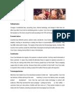 Cocacola Analisis Pest