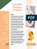 Rezept - Steckrüben Orangensauce mit Hähnchen