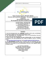 Formular Deutsch EP2018