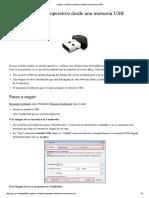 Crear Unidades USB Booteables Con Unetbootin