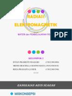 2. RADIASI ELEKTROMAGNETIK
