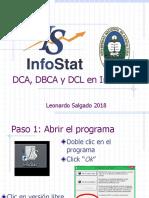 DCA, DBCA y DCL en Infostat