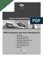 PPM 3 Manual de Instalación