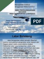 Presentasi MIPM (Transportasi)