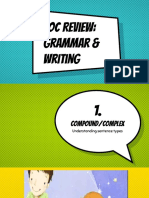 eoc review 2- grammar and writing  1