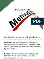 05. Consumer Motivation