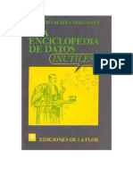 Una Enciclopedia de Datos Inutiles