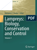 Lampreys Biology, Conservation and Control Volume 1