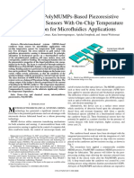 Symmetrical PolyMUMPs-Based Piezoresistive Microcantilever Sensors With on-Chip Temperature Compensation for Microfluidics Applications