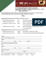 East Huron Market Application