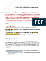 Precious Plastic - Info on Motors