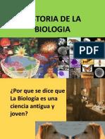 Historia e Importancia de La Biologia 1