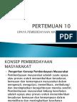 PERTEMUAN 10 PROMKES