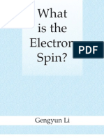 What is the Electron Spin